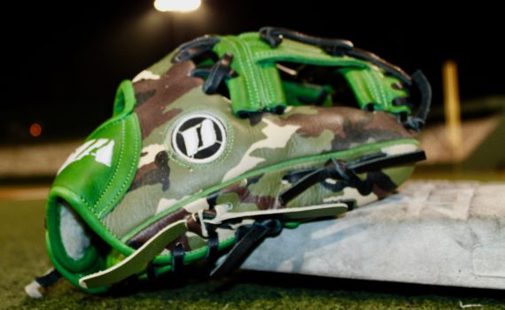Infield Glove – Green & Camo Style