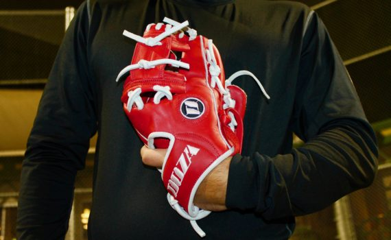 Infield Glove – Red